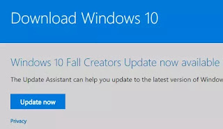 installare la versione 1709 windows 10