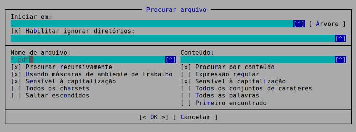 localicar arquivos ou pastas no ubuntu com o navegador de arquivos mc