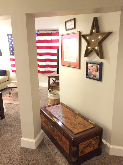 Americana Guest Room Makeover - LeroyLime