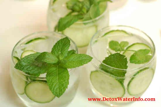 cucumber lemon water weight loss recipe infused detox