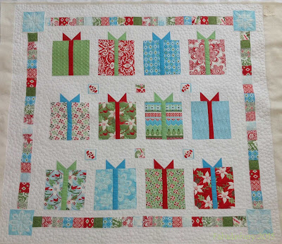 'Flurry' by Kate Spain - Long arm quilting
