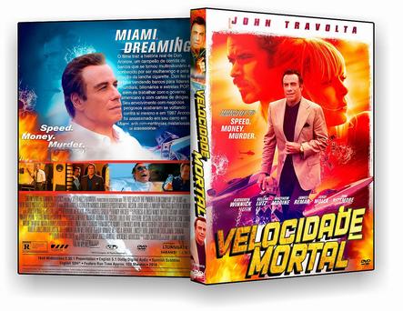 CAPA DVD – VELOCIDADE MORTAL 2019 DVDR