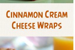 Cinnamon Cream Cheese Wraps