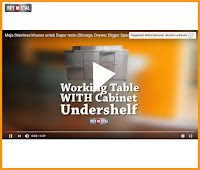 Video Working Table Untuk Dapur Resto