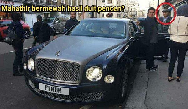 PRU14: Mahathir bermewah hasil duit pencen?