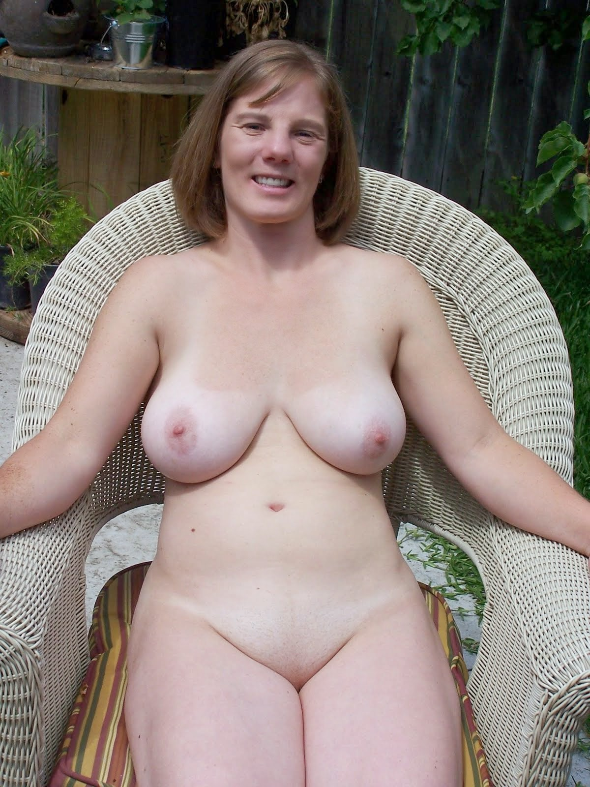 Nude middle aged women simply