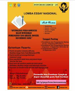 Cara menulis essay beasiswa