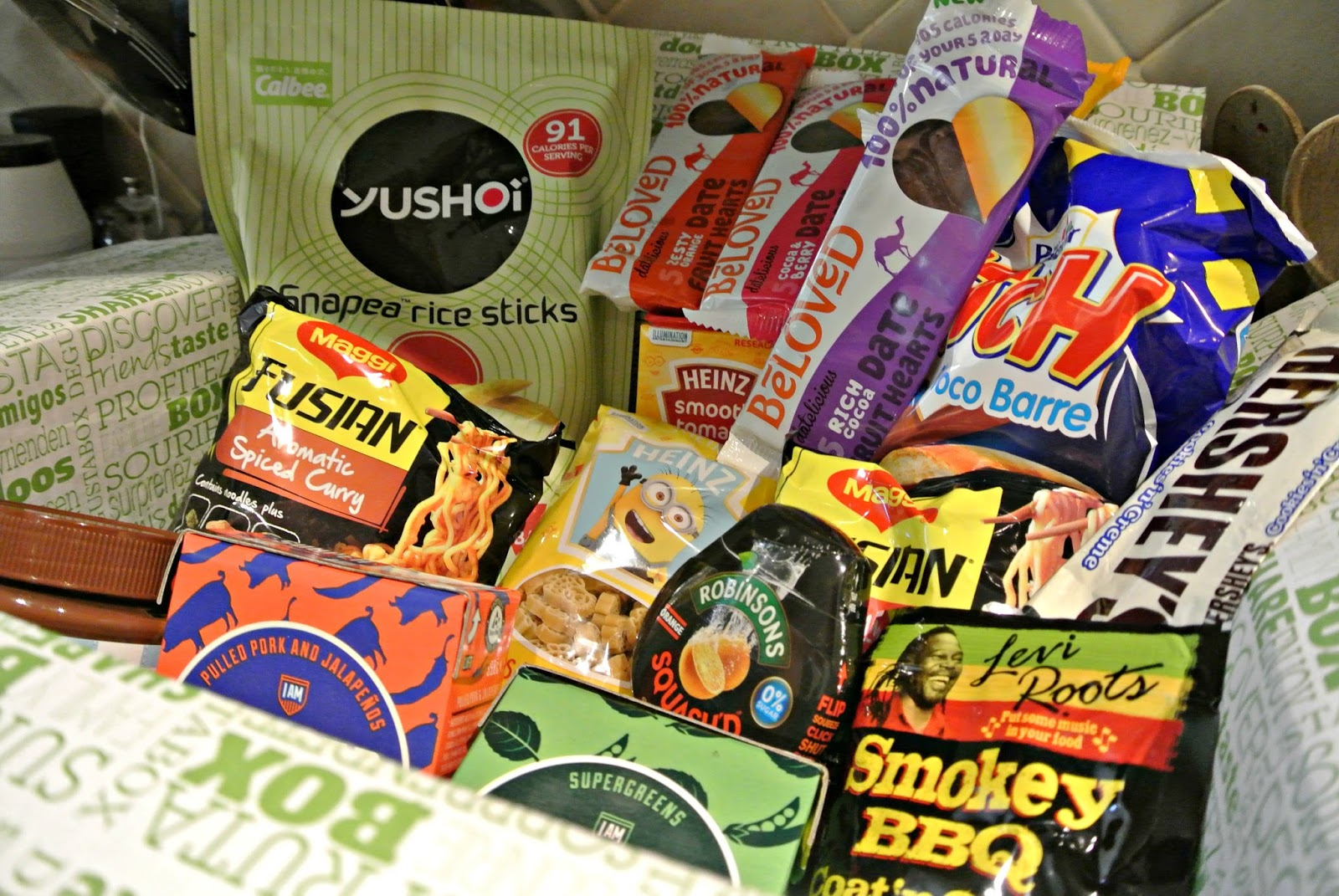 Degustabox October 2016 review food subscription box plus discount code image