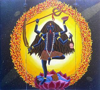 Maha Kali Ma Kali, Marea Putere Cosmică A Timpului