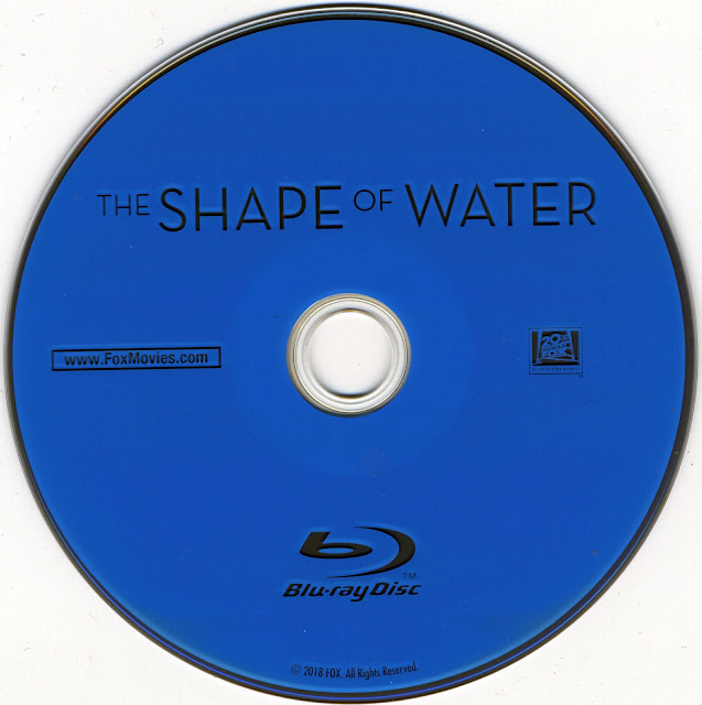 The Shape Of Water Bluray Label