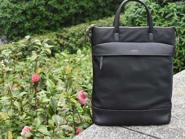 [穿搭] 旅遊&日常超實用 Targus後背包 手提後背2用 !