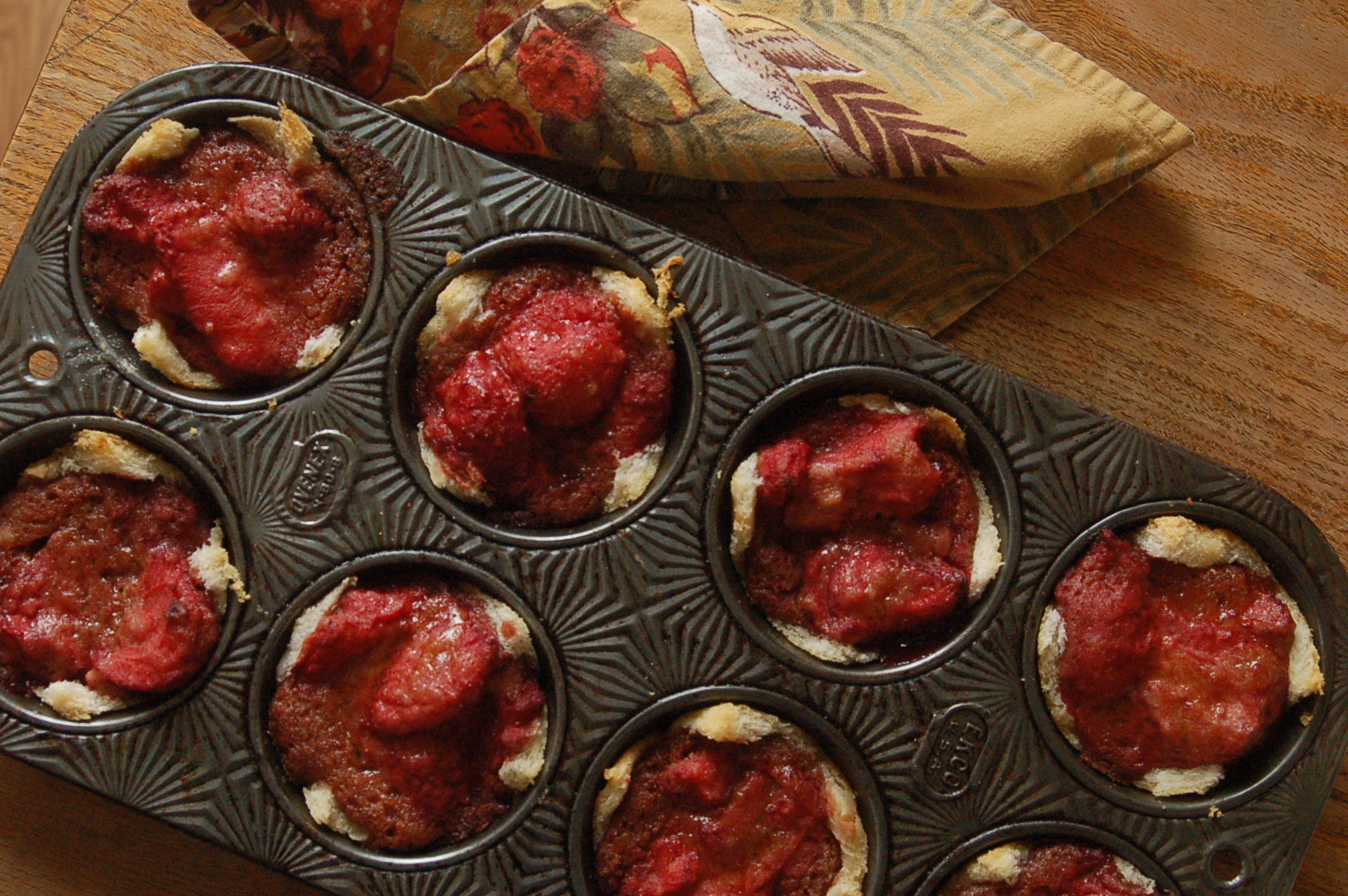 ... Small Life...and {Clean Eating} Strawberry Brown Butter Betty Tarts
