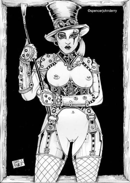 Purchase Original Fetish Erotic Steampunk Art