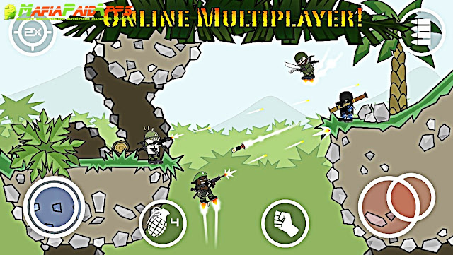 Doodle Army 2 Mini Militia Apk MafiaPaidApps