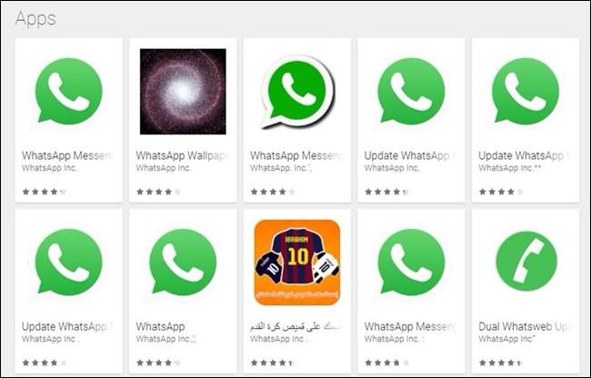 riconoscere le icone false delle app nello store android di Google