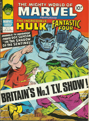 Mighty World of Marvel #317, Hulk vs Doc Samson