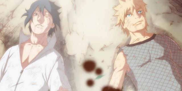 sasuke kalah melawan naruto