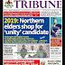 NAIJA NEWSPAPERS: TODAY'S THE TRIBUNE NEWSPAPER HEADLINES [11 FEBRUARY, 2018].