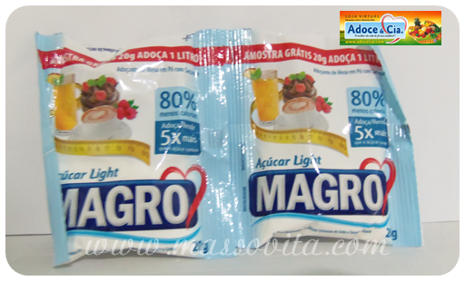Açúcar Magro light