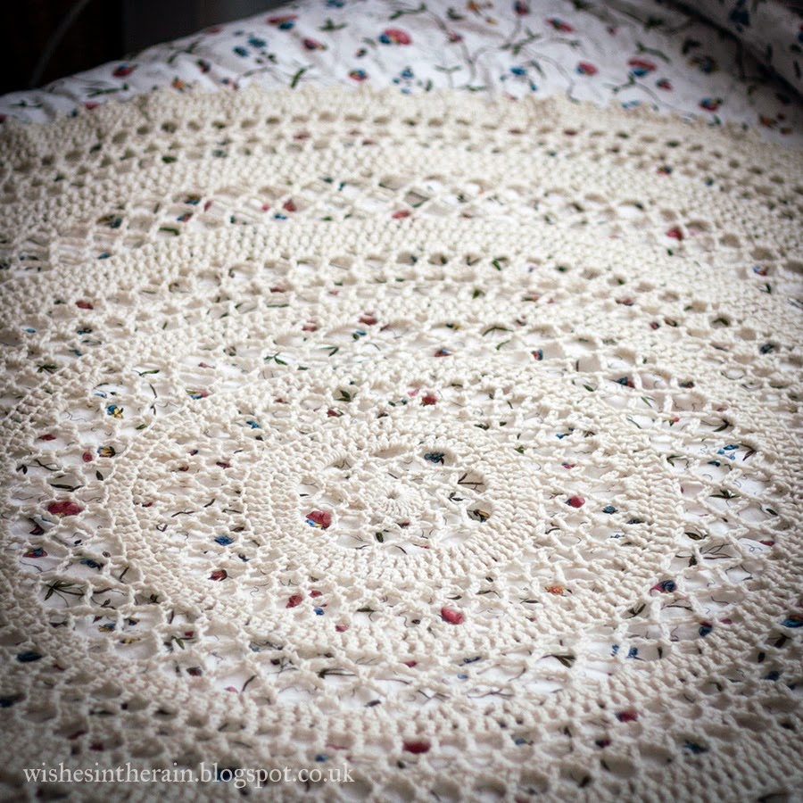 crochet lace fabric