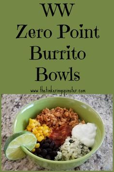 Arizona Burrito Bowls