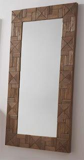 Espejo Alto Madera Reciclada Artison