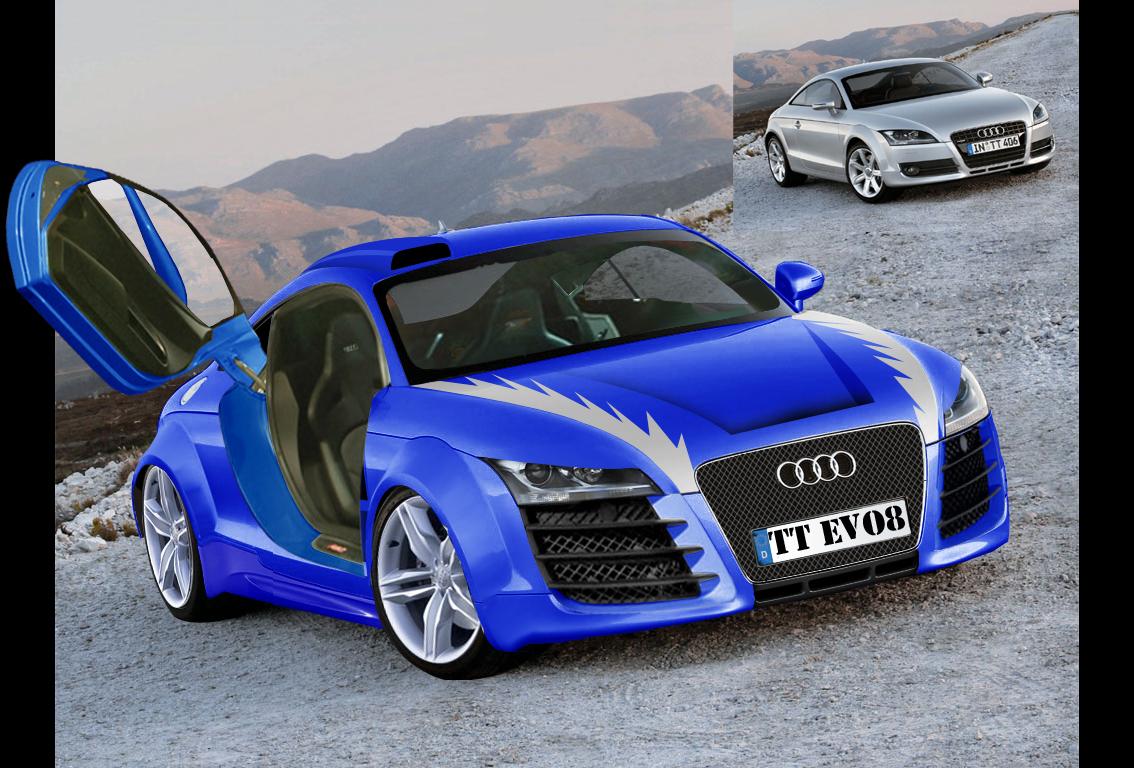 Modifikasi Motor Mobil Audi Tt Wallpapers