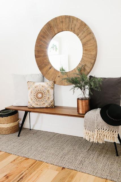 Ideas para decorar recibidores pequeños-13