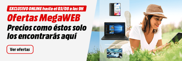 Top 10 ofertas MegaWeb de Media Markt