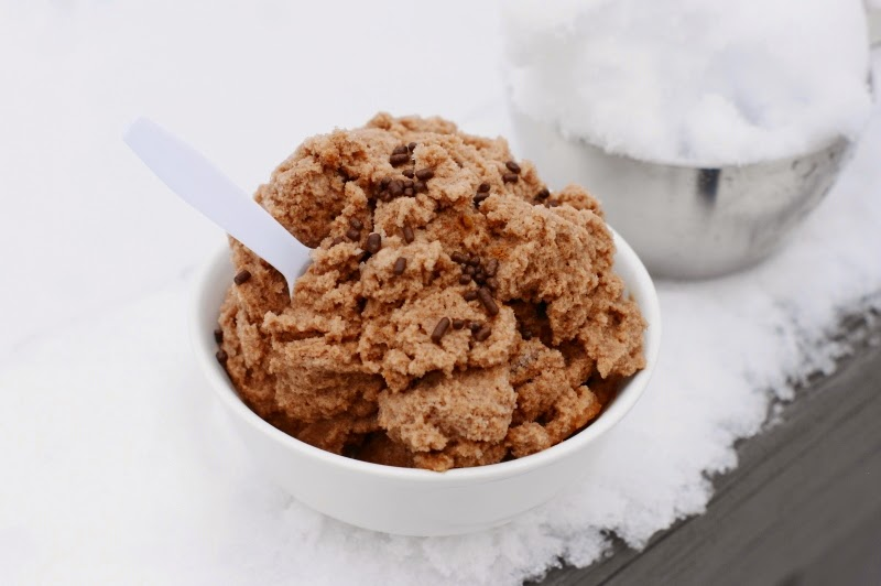 Chocolate Snow Cream image