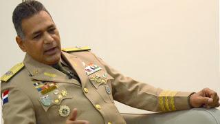 Resultado de imagen para ministro de defensa rubén paulino sem, en rueda de prensa
