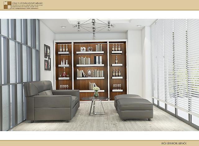Sự đồng nhất, hài hòa được tạo nên từ chính sự hợp lý về màu sắc, mẫu mã và chất liệu của từng sản phẩm nội thất phòng giám đốc