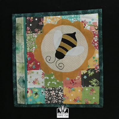 Zippered Bee Pouch