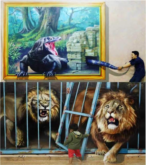 Info Harga Tiket  Masuk dan Alamat Museum 3D Amazing Art World Bandung