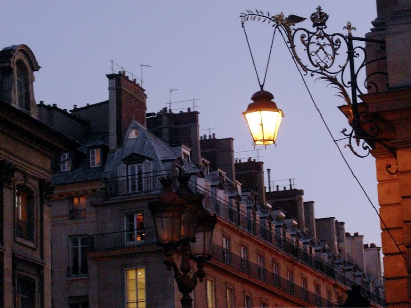 Abendstimmung in Paris
