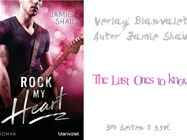 REZENSION  || ROCK MY HEART ~ JAMIE SHAW