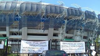 Stadion GBLA Disegel Warga Gedebage