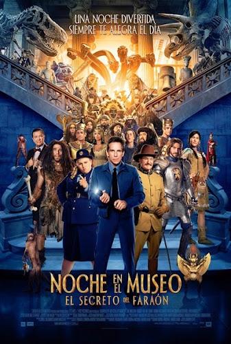 Una Noche en el Museo 3 El Secreto del Faraón DVDRip Latino