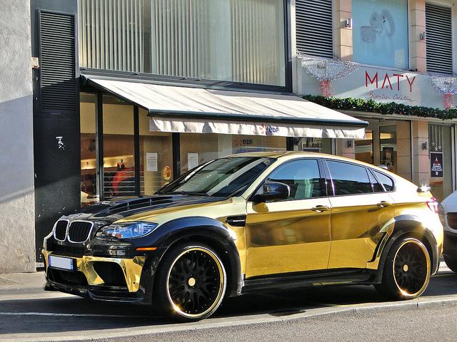 Speedmonkey Gold Bmw X6 Hamman Supreme Edition The Car That Taste