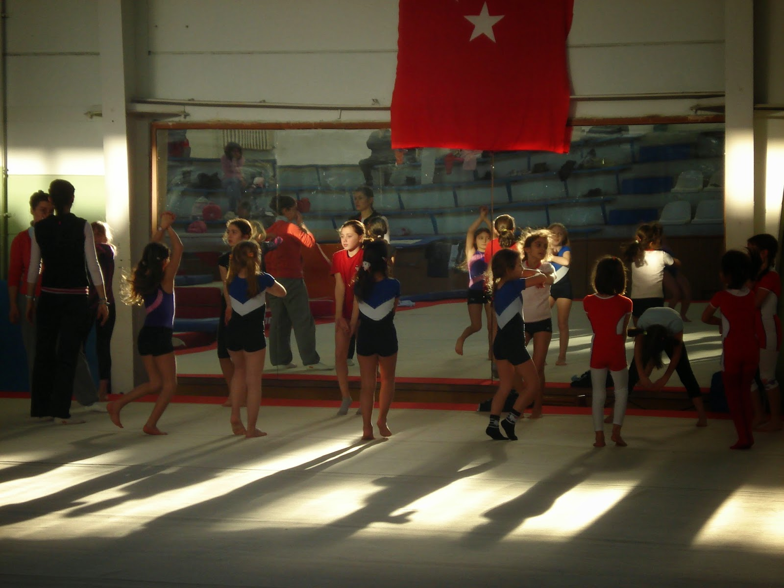 gymnastics class for kids