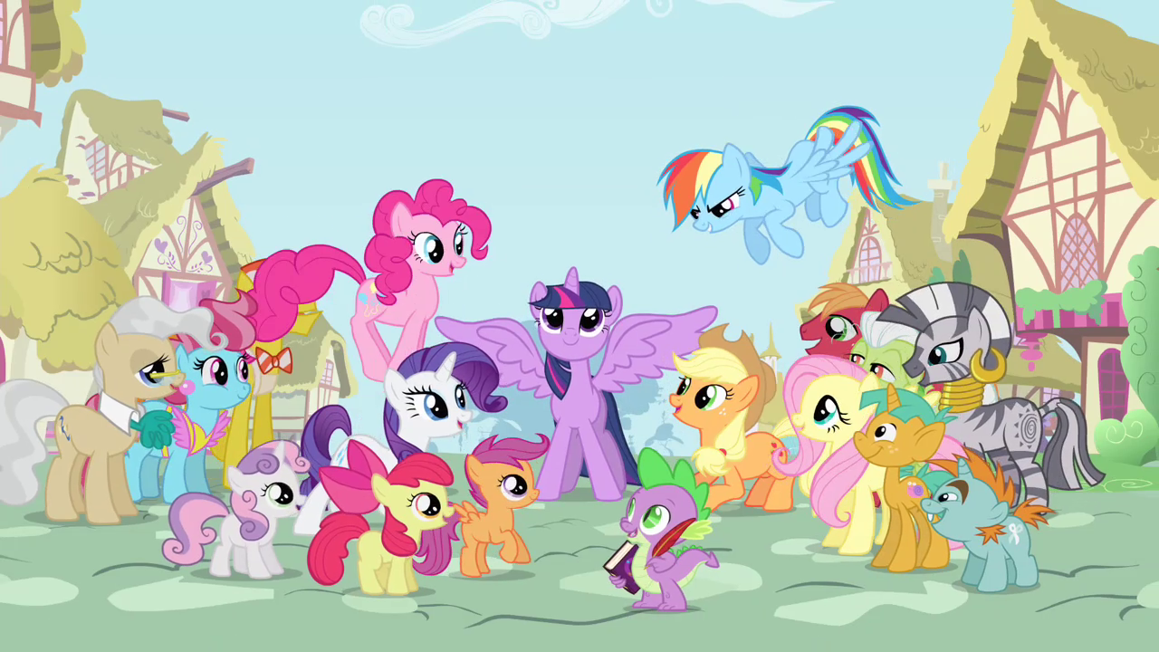 The Thunder Productions Picking Apart Quot My Little Pony