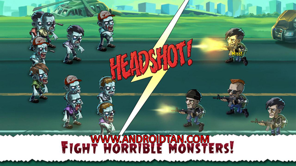 Free Download Zombie Town Story Mod Apk v1.0.1 Unlimited Money Terbaru 2017 Gratis