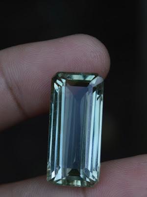 Prasiolite quartz