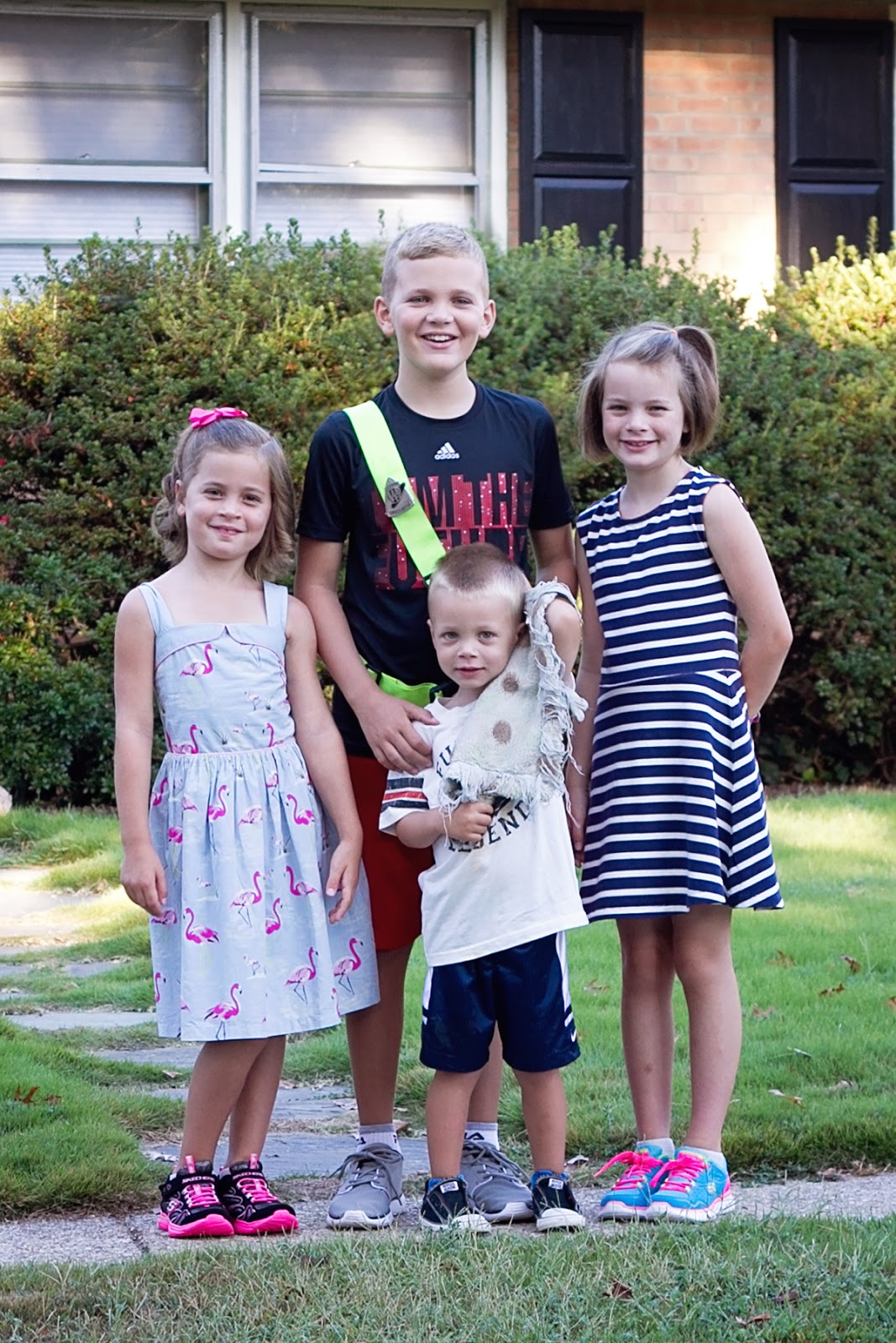 The Cullinan Family First Day Of School