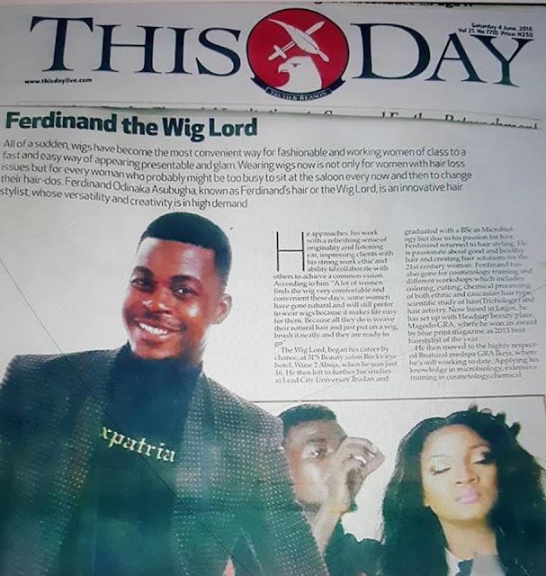 Meet Omotola Jalade's hair Stylist Ferdinand, entertainment news