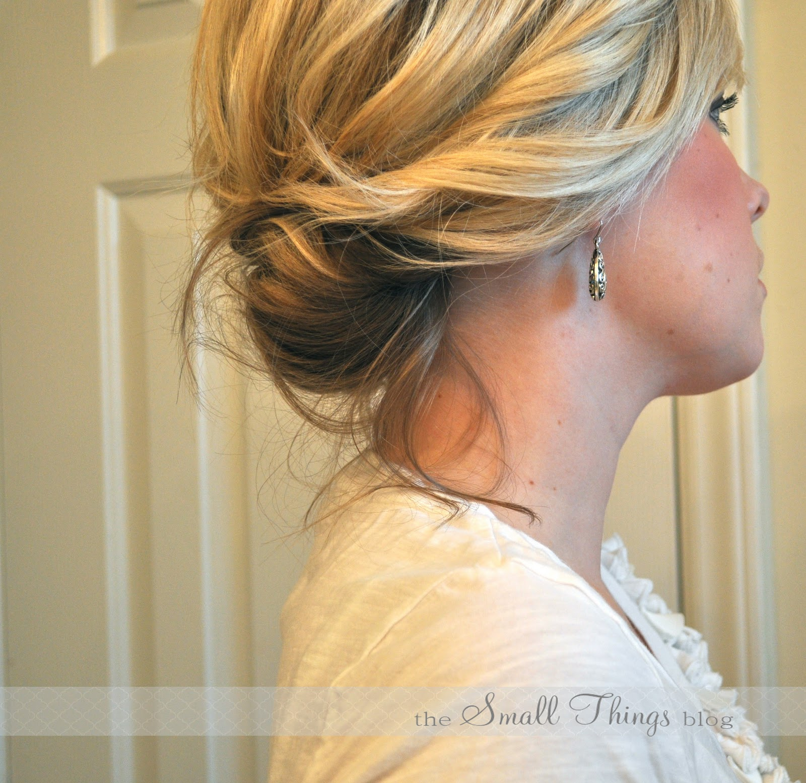 the chic updo – the small things blog