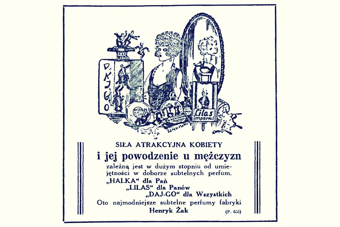 Reklama prasowa, 1928.