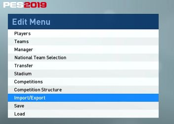 DTG Reviews: PES 2019: Customize - Edit Players and their
