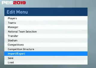 PES 2019, Import Custom Images