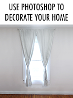 How to use Photoshop to decorate your home